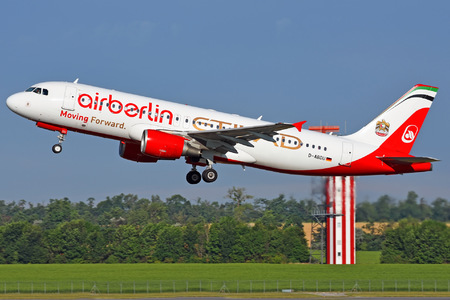 Airbus A320-214 - D-ABDU operated by Air Berlin