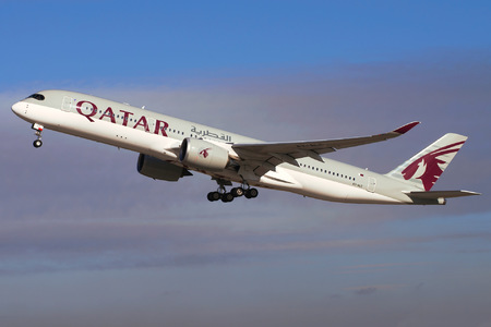 Airbus A350-941 - A7-ALC operated by Qatar Airways