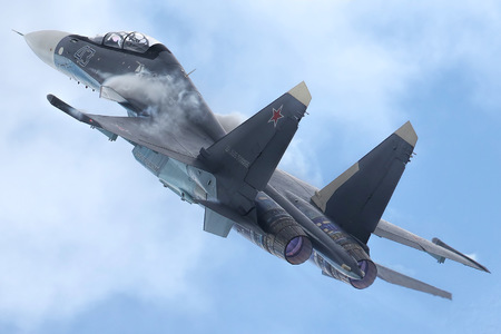 Sukhoi Su-30SM - 43 operated by Voyenno-morskoy flot Rossii (Russian Navy)
