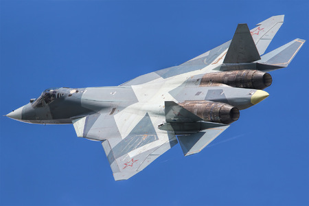 Sukhoi T-50 - 052 operated by Sukhoi Design Bureau