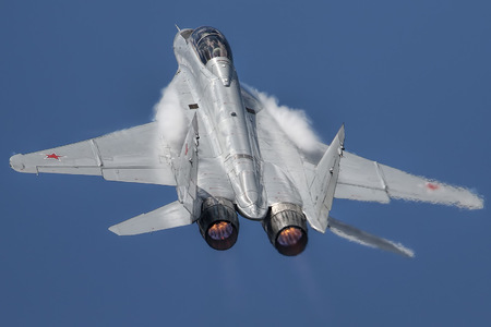 Mikoyan-Gurevich MiG-29M2 - 747 operated by RSK MiG