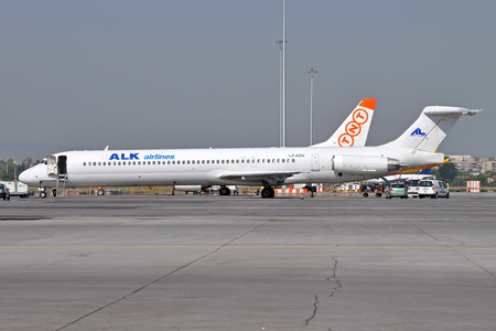 McDonnell Douglas MD-82 - LZ-ADV operated by ALK Airlines