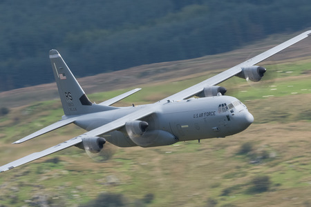 Lockheed Martin C-130J-30 Super Hercules - 08-8601 operated by US Air Force (USAF)