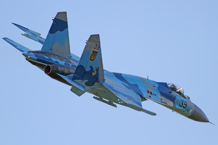 Sukhoi Su-27P - 39 operated by Povitryani Syly Ukrayiny (Ukrainian Air Force)