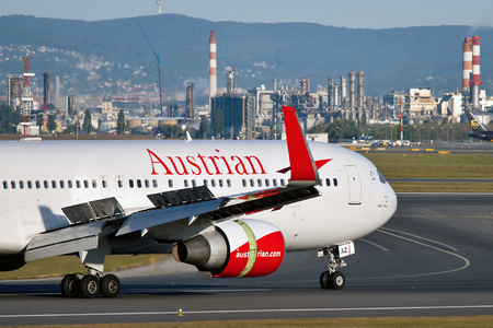 Boeing 767-300ER - OE-LAZ operated by Austrian Airlines