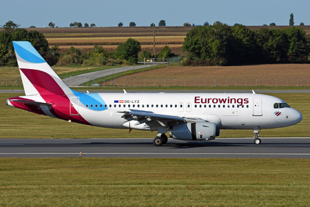 Airbus A319-132 - OE-LYZ operated by Eurowings