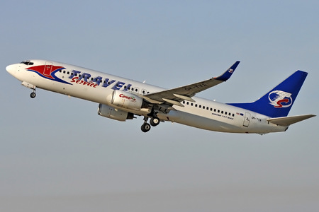 Travel Service By - Taken Slovakia Operated Boeing Om-tva 737-800