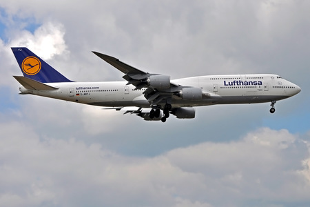 Boeing 747-8 - D-ABYJ operated by Lufthansa