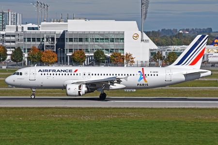 Airbus A320-214 - F-GKXI operated by Air France