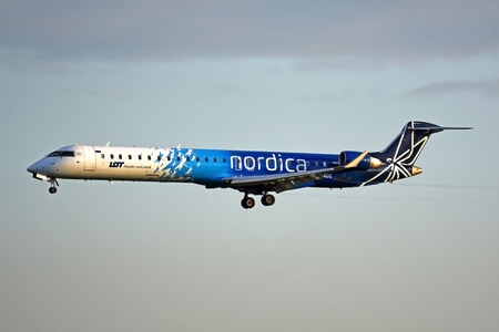 Bombardier CRJ900 - ES-ACC operated by Nordica