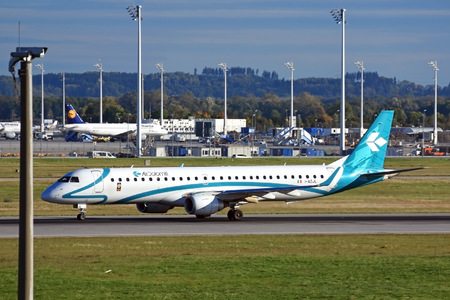 Embraer 190-200LR - I-ADJL operated by Air Dolomiti