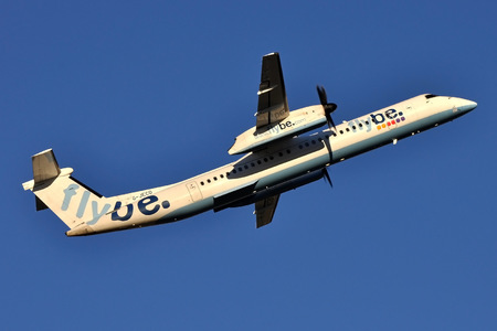 Bombardier DHC-8-Q402 Dash 8 - G-JECO operated by Flybe