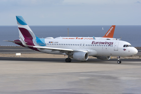 Airbus A320-214 - D-AEWP operated by Eurowings