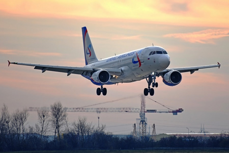 Airbus A320-214 - VP-BQW operated by Ural Airlines