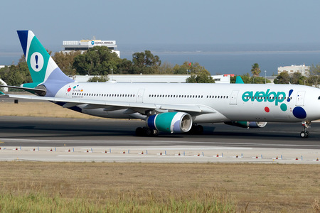 Airbus A330-343 - EC-LXA operated by Evelop Airlines
