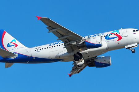 Airbus A319-112 - VQ-BTY operated by Ural Airlines
