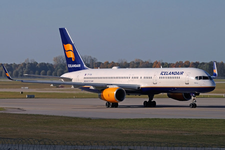 Boeing 757-200 - TF-FIN operated by Icelandair
