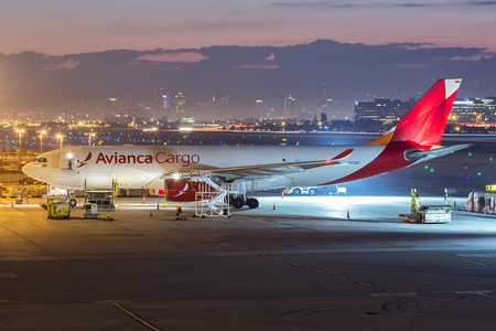Airbus A330-243F - N332QT operated by Avianca Cargo