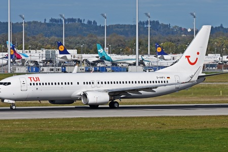 Boeing 737-800 - D-AHFV operated by TUIfly