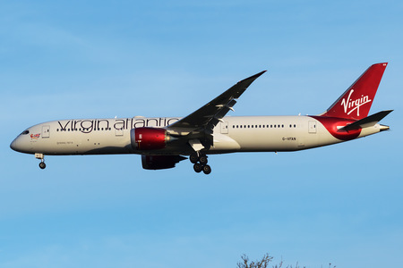 Boeing 787-9 Dreamliner - G-VFAN operated by Virgin Atlantic Airways