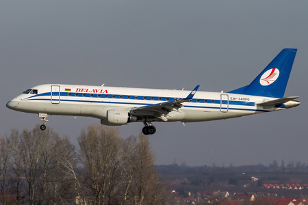 Embraer E175LR (ERJ-170-200LR) - EW-340PO operated by Belavia Belarusian Airlines
