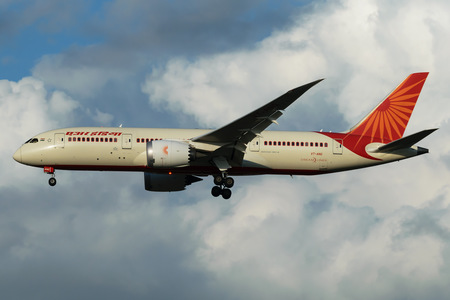 Boeing 787-8 Dreamliner - VT-ANG operated by Air India
