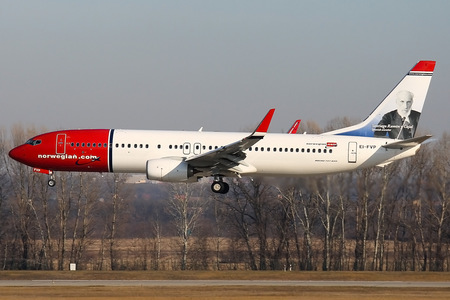 Boeing 737-800 - EI-FVP operated by Norwegian Air International