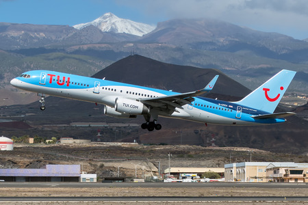 Boeing 757-200 - G-CPEV operated by TUIfly