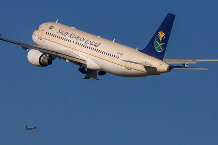 Airbus A320-214 - HZ-ASC operated by Saudi Arabian Airlines
