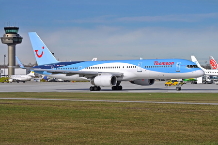 Boeing 757-200 - G-CPEV operated by Thomson Airways