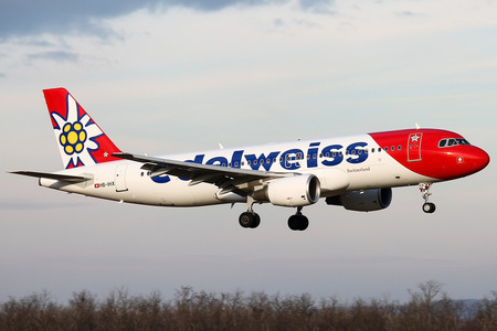 Airbus A320-214 - HB-IHX operated by Edelweiss Air