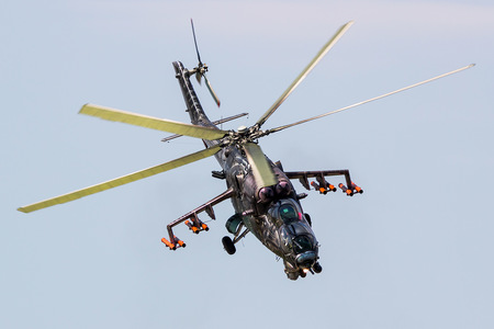Mil Mi-35 - 3366 operated by Vzdušné síly AČR (Czech Air Force)