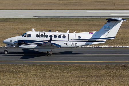 Beechcraft B300 King Air 350 - YU-BTC operated by Serbia and Montenegro Air Traffic Services Agency (SMATSA)