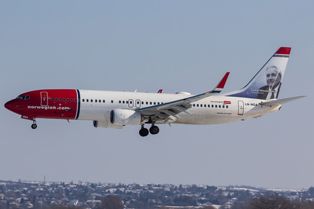 Boeing 737-800 - LN-NGA operated by Norwegian Air Shuttle