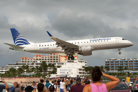 Embraer 190-100IGW - HP-1556CMP operated by Copa Airlines
