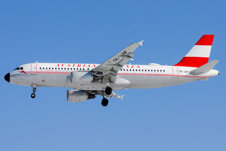 Airbus A320-214 - OE-LBP operated by Austrian Airlines