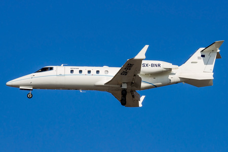 Bombardier Learjet 60 - SX-BNR operated by Aegean Airlines