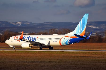 Boeing 737-800 - A6-FEZ operated by flydubai