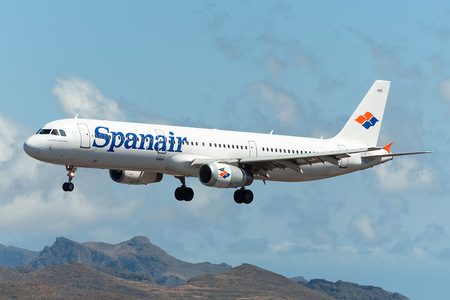Airbus A321-231 - EC-HRG operated by Spanair