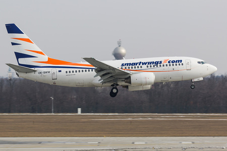 Boeing 737-700 - OK-SWW operated by Smart Wings