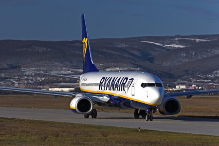 Boeing 737-800 - EI-FRG operated by Ryanair