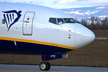 Boeing 737-800 - EI-FTZ operated by Ryanair