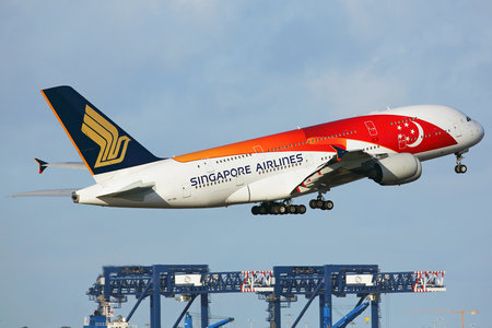 Airbus A380-841 - 9V-SKI operated by Singapore Airlines