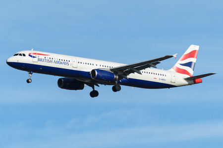 Airbus A321-231 - G-MEDJ operated by British Airways