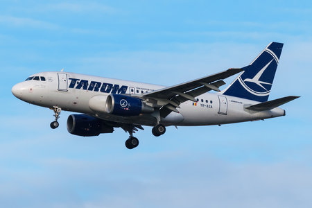 Airbus A318-111 - YR-ASA operated by Tarom