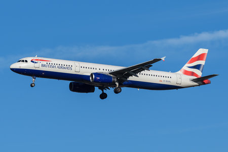 Airbus A321-231 - G-EUXL operated by British Airways