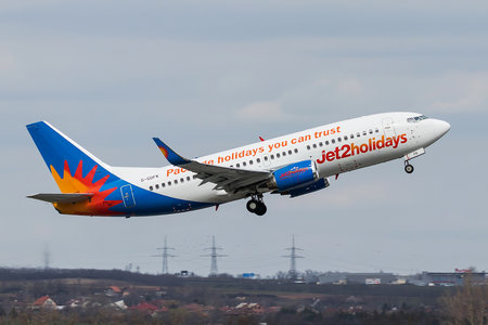 Boeing 737-300 - G-GDFK operated by Jet2holidays