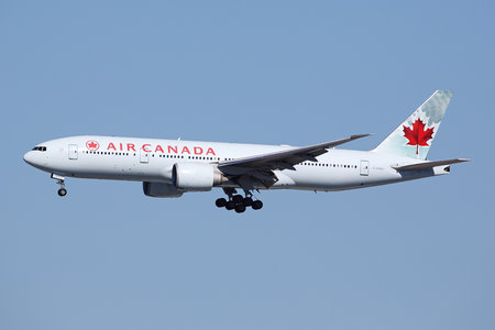Boeing 777-200LR - C-FIUJ operated by Air Canada