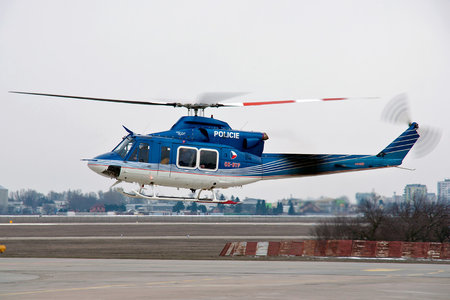 Bell 412EP - OK-BYP operated by Policie ČR (Czech Police)