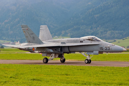 McDonnell Douglas EF-18A+ Hornet - C.15-67 operated by Ejército del Aire (Spanish Air Force)